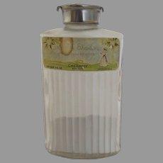 Vintage Cheramy April Showers Powder Glass Bottle