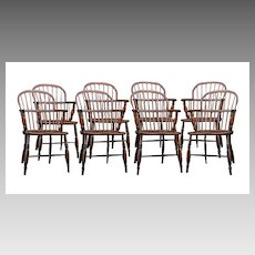 English Ash And Elm Windsor Chairs