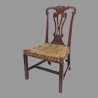 Late 18th Early 19th Century Carved Chippendale Side Chair