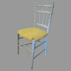 Charming 19th Century Turned Single Painted