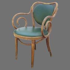 Empire State Chair Co. Bentwood Armchair c 1900