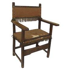 Spanish 17th Century Arm Chair