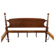 American 19th Century Cannon Ball Twin Bed