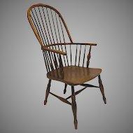English Ash and Yewwood Windsor Chair
