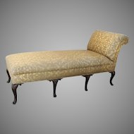 English Cabriole Leg Chaise