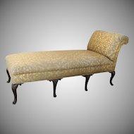 English Cabriole Leg Chaise