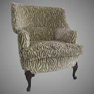 1920's Small Great Shape Wing Chair