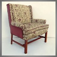 Vintage Marquis Upholstered Arm Chair