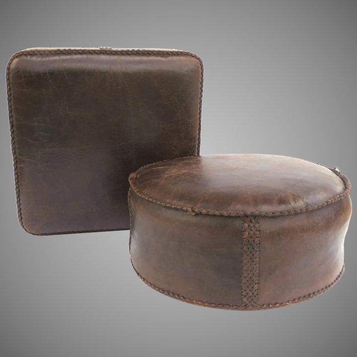 Super Mexican Vintage Pair Floor Pillows Cushions Ottomans Caraccident5 Cool Chair Designs And Ideas Caraccident5Info
