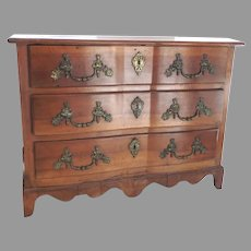 Early 19th Century French Provincial Commode Chest of Drawers