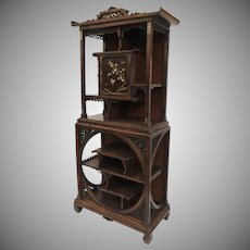Gabriel Viardot French Display Cabinet Etagere in the Japanese Manner c 1870