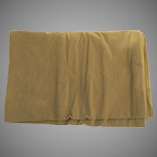 Vintage Large Fabric Sample Coraggio Neutral Wool Pile Loop
