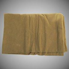 Vintage Large Fabric Sample Coraggio Neutral Wool Pile Loop