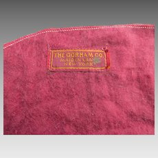 Three (3) Vintage Silver Flatware Storage Bags The Gorham Co. New York