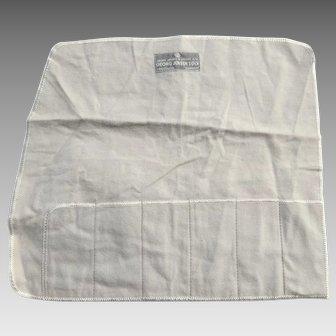 Vintage Georg Jensen Felt Silver Flatware Bag