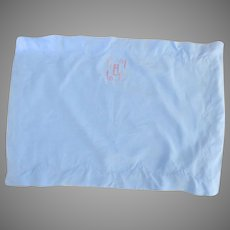Vintage Fine Quality Pillowcase by Léron, Inc., New York