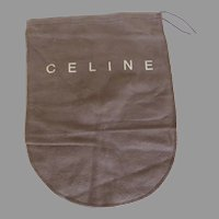 Vintage Celine France Cloth Storage Dust Bag