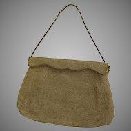Vintage Magid Hand Beaded in France Purse Bag