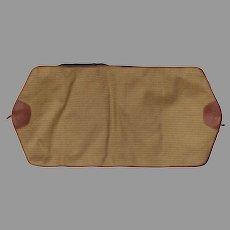 Vintage Ghurka Marley Hodgson Garment Bag Carry-On Luggage