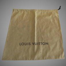 Vintage Large Louis Vuitton Storage Dust Bag