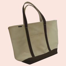 Large Canvas Classic Land's End Tote