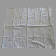 Two (2) Very Large Vintage European Linen Pillow Shams