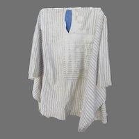 Vintage Cotton Embroidered AGBADA YORUBA Robe