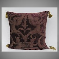 French Hand Made Fabric Pillow