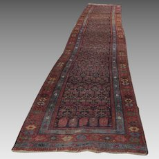 "Persian 1900's Long Runner 199""(16' 7"") by 37"""
