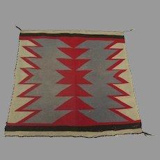 1900 Navajo Germantown Rug Weaving Square