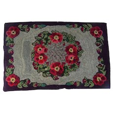 Early 20th Century American Hooked Rug