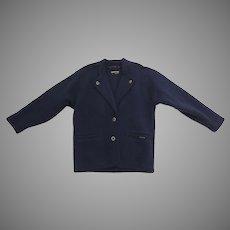 Vintage Geiger Wool Jacket Horn Buttons Austria