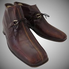 Men's Vintage vintage Johnston & Murphy Aristocraft Shoe Boots 70's