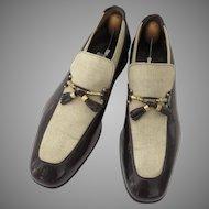 Vintage Men's Johnston Murphy Aristocraft Shoes 70's