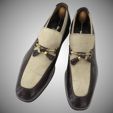 Vintage Men's Johnston Murphy Aristocraft Shoes 70's