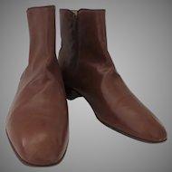 Vintage Men's Bruno Magli Italian Shoe Boots