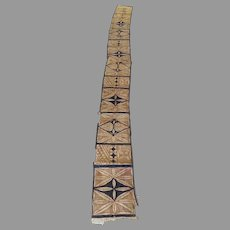 Vintage Older Polynesian Tapa Bark Cloth