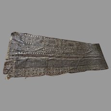 Large Vintage Tapa Tapas Bark Cloth