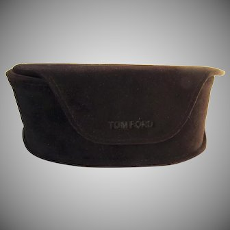 Vintage Rich Brown Tom Ford for Tom Ford Sunglasses Case