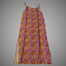 Vintage 1960's Paper Dress Study History