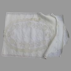 Group of 4 Doilies Lace