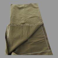 "Vintage Coraggio Textiles Angora Silk Large Fabric Sample 51"" by 103"""