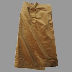 "Vintage Coraggio Textiles Angora Silk Large Fabric Sample 52"" by 102"""
