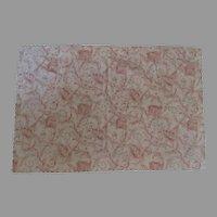 Vintage Nancy Koltes Fine Linen Scalloped Edge King Sham