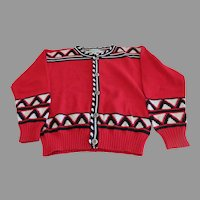 Cardigan Sweater by Amazonias Bear Paw Buttons