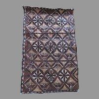 Older Vintage Tapa Bark Cloth Polynesian