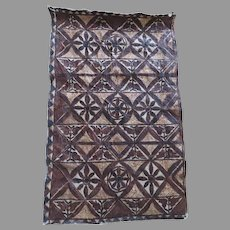 Older Vintage Tapa Bark Cloth Polynesian