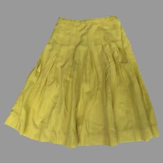 Vintage 50's Yellow Pleated Skirt Jantzen