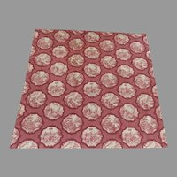 "Great Richloom Platinum Collection ""Toile"" Square Tablecloth Hanging"