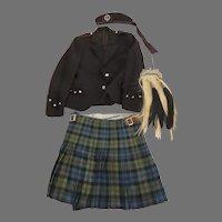 Vintage Sporran Kilt Hat Jacket